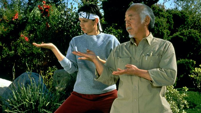 karate kid for prayer coach